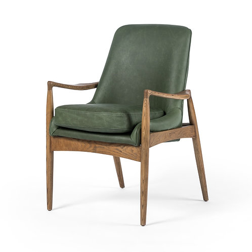Braden Dining Leather Arm Chair