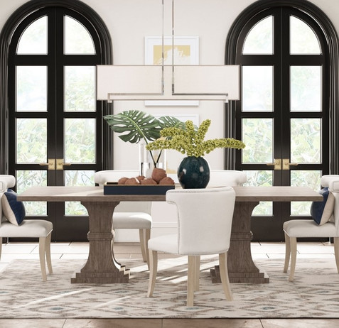 Tropical Chic - Dining Room