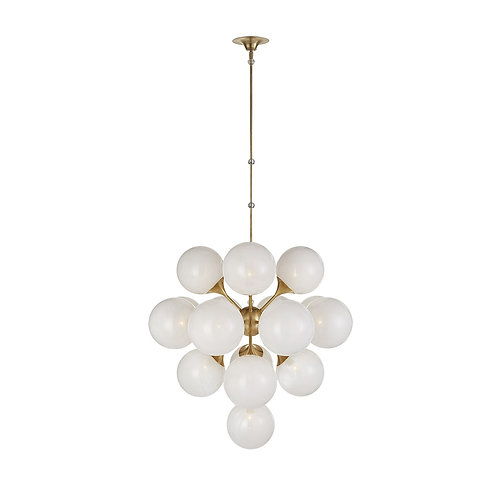 Cristol Large Tiered Chandelier (AERIN Collection, 多色可選)