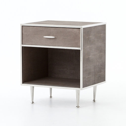 Shagreen Bedside Table 2