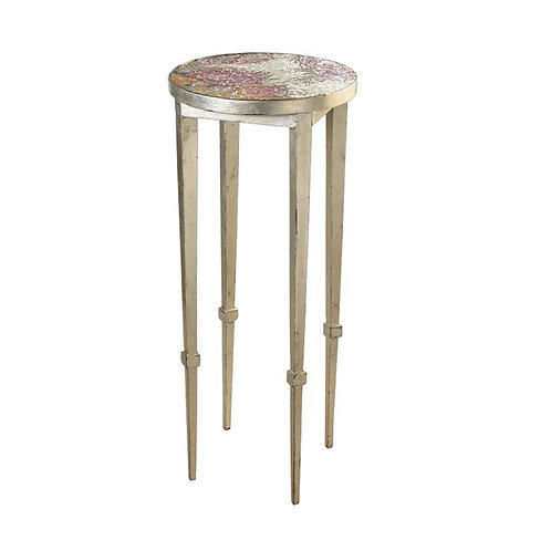 Roses Accent Table With Mosaic Top
