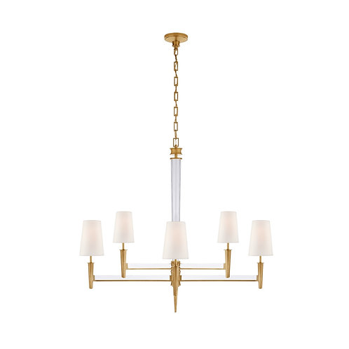 Lyra Two Tier Chandelier (Thomas O'Brien Collection, More Options)
