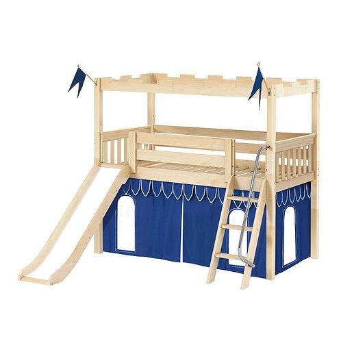 Maxtrix (低) 高架床 + 扶梯 + 滑梯 + 城堡套組 (多款可選)