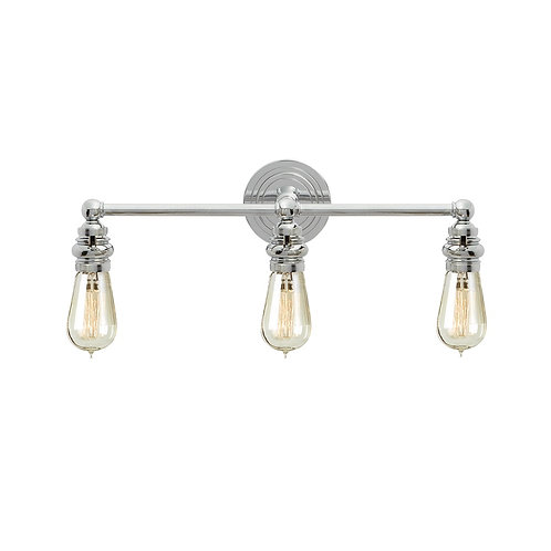 Boston Functional Triple Light (E. F. Chapman Collection, More Options)