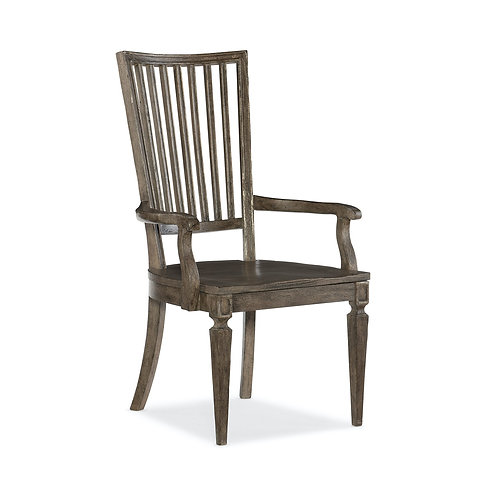 Woodlands Wood Back Arm Chair (Set of 2)