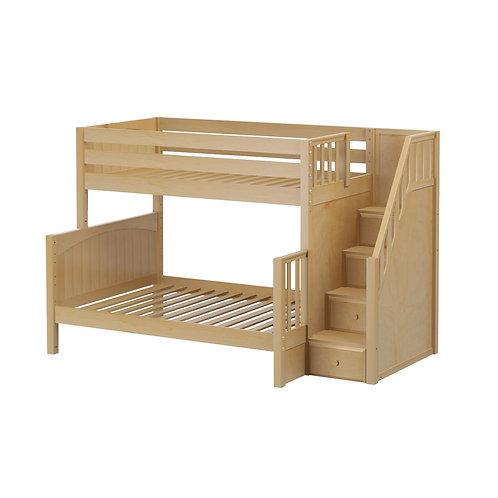 Maxtrix (中) TWIN+FULL 雙層床 + 箱梯 (多款可選)