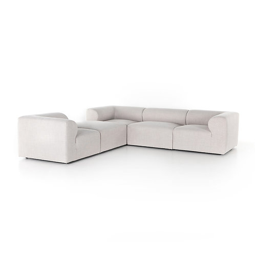 Collins 4-Piece Sectional w/ Ottoman 2