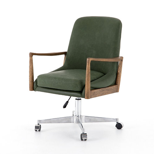 Braden Leather Desk Chair