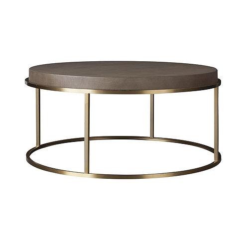 Modern Bennett Round Cocktail Table