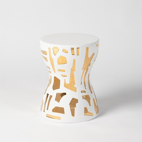 Abstract Stool (Ashley Childers Collection)