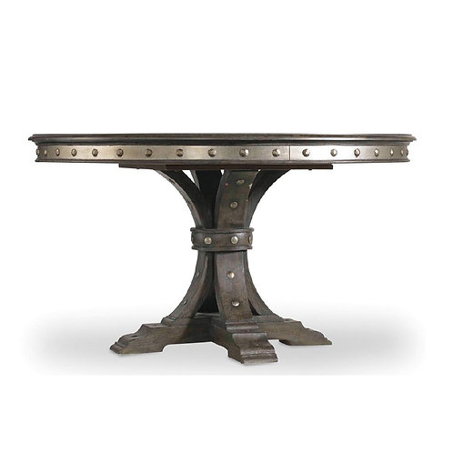 Vintage West 54in Round Dining Table