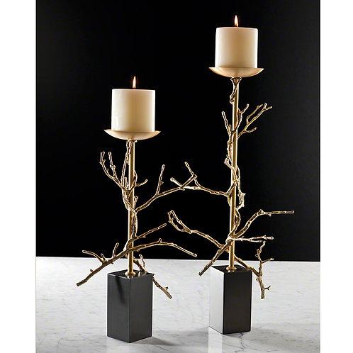 Twig 黃銅樹枝燭台 (多款可選)