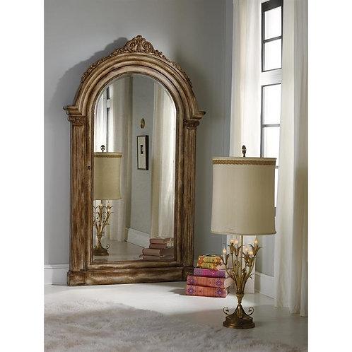Melange Vera Floor Mirror w/Jewelry Armoire Storage