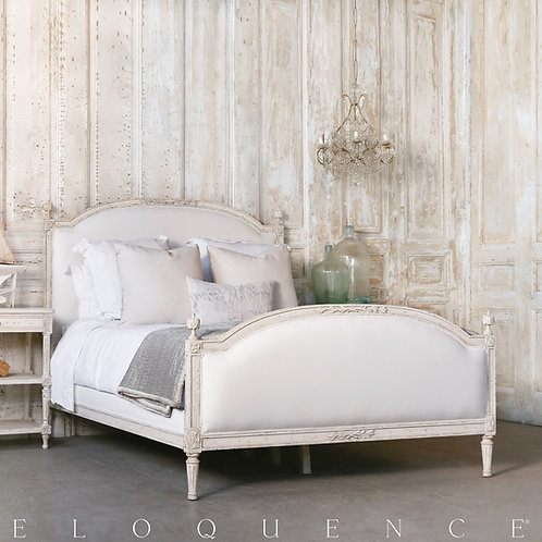 Eloquence® Dauphine Bed in Weathered White (多款可選)