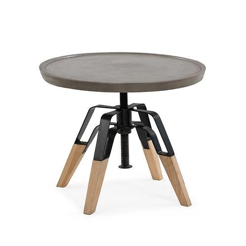 Yates Concrete End Table