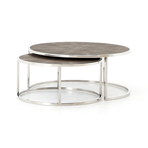 Shagreen Nesting Coffee Table 2