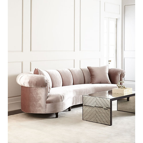 Audriana Channel Tufted Sofa