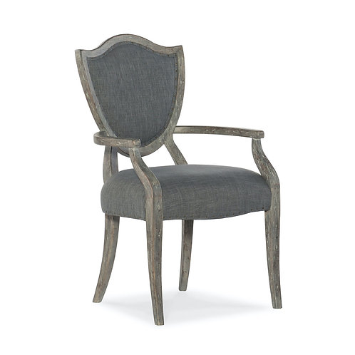Beaumont Shield Back Arm Chair (Set of 2)