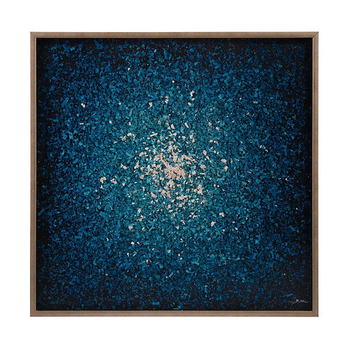 Ruan Wei's Blue Composition