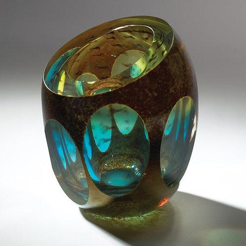 Molten Jewel Vase