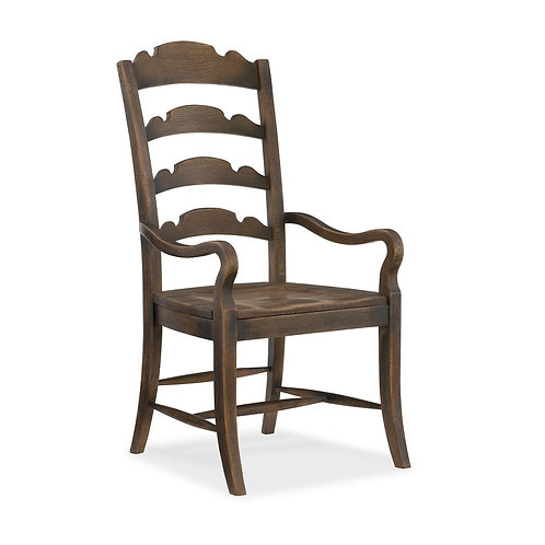 Twin Sisters Ladderback Arm Chair 2