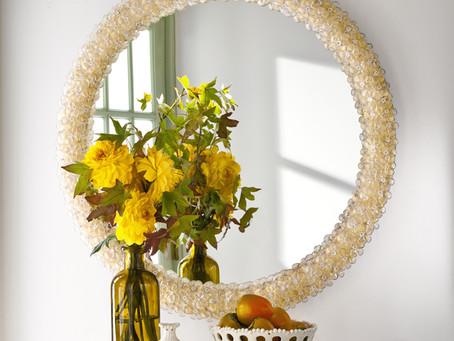 極致精美的義大利慕拉諾島的手工玻璃藝術鏡