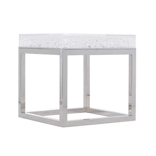 Aventura Acrylic End Table