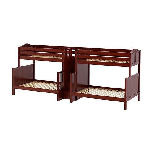 Maxtrix (高) TWIN+FULL 雙排雙層床 + 箱梯 (多款可選)