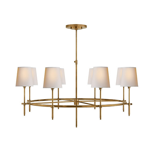 Bryant Large Ring Chandelier (Thomas O'Brien Collection, More Options)