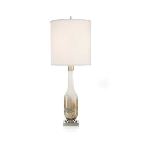 Handblown Golden Table Lamp