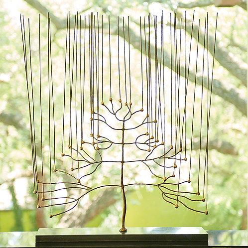 Skeleton Tree 金色骨架樹 (大型裝飾)