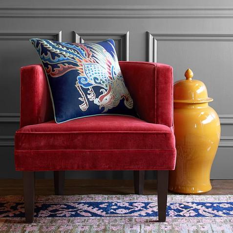 Fresh Chinoiserie - Living Room