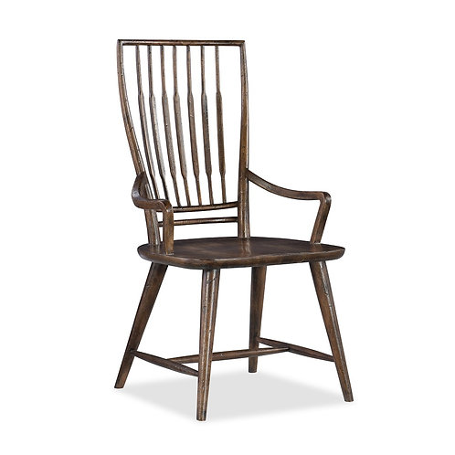 Roslyn County Spindle Back Arm Chair (Set of 2)