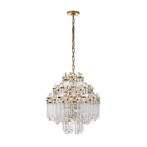 Adele Four Tier Waterfall Chandelier (Suzanne Kasler Collection, More Options)