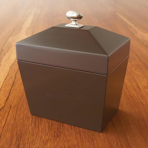 Computer Disk Box-Dark Chocolate