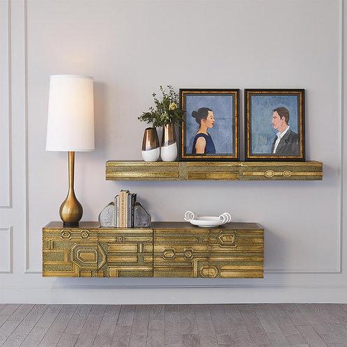 Abstract Block Floating Shelf (多款可選)