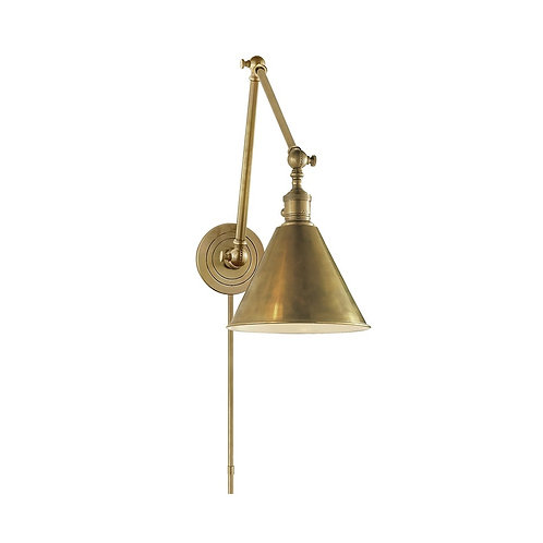 Boston Double Arm Library Light (E. F. Chapman Collection, More Options)