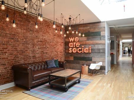 在上班還是度假?We Are Social 辦公室
