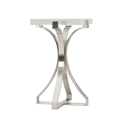 Bubble Glass Accent Table