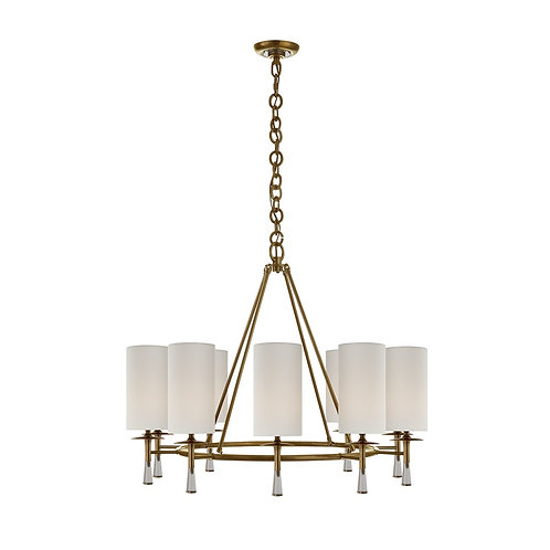 Drunmore Large Chandelier (AERIN Collection, 多色可選)
