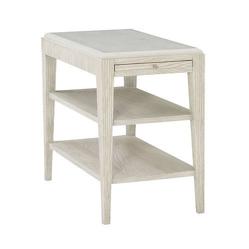 Domaine Blanc End Table
