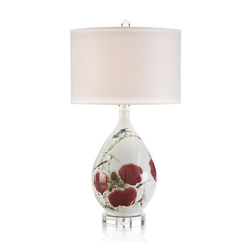 Traditional Hand Painted Ceramic Table Lamp
