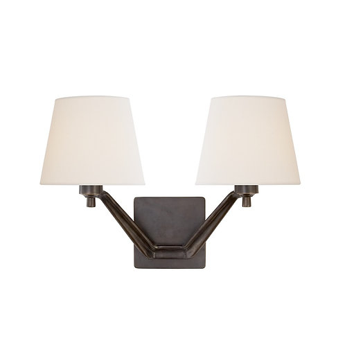 Union Double Arm Sconce (AERIN Collection, 多色可選)