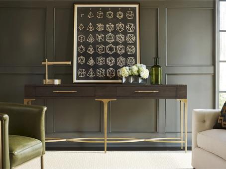 客人進門驚艷了!設計優雅添好運的玄關桌