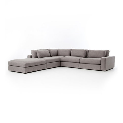 Bloor 4-Piece Sectional w/ Ottoman 2