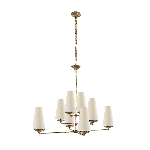 Fontaine Large Offset Chandelier (AERIN Collection, 多色可選)