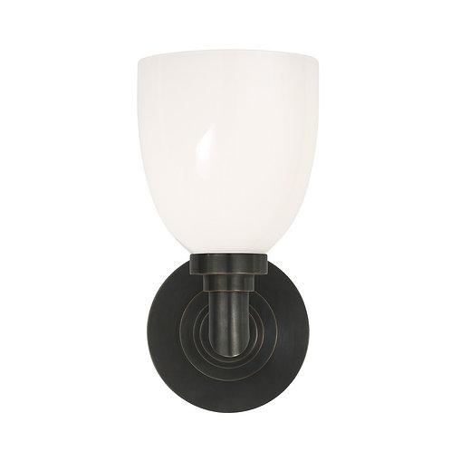 Wilton Single Bath Light (E. F. Chapman Collection, More Options)