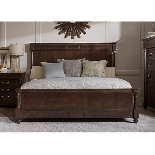 Lawrence Wood Bed