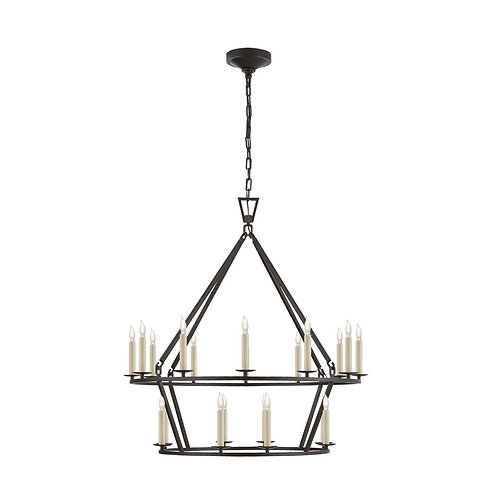 Darlana Medium Two-Tier Chandelier (E. F. Chapman Collection, More Options)