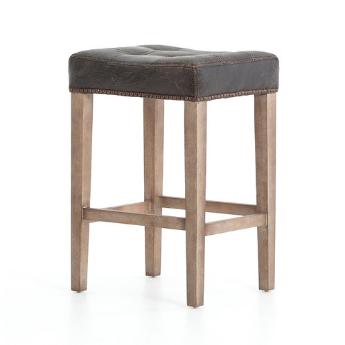 Sean Leather Counter Stool